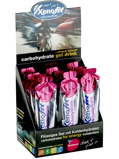 Xenofit Carbohydrate Hydro Gel Box Waldbeere 21 x 60ml